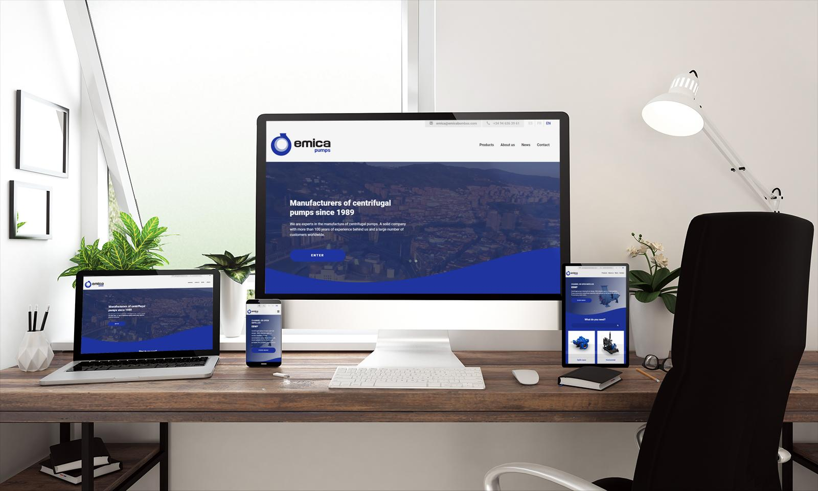 Emica launches a new website