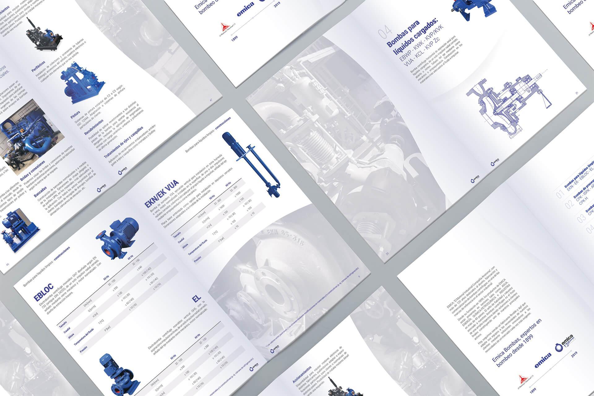 nuevo catálogo de soluciones de bombeo 2021 EMICA